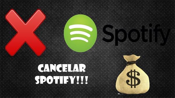 Como cancelar seu Spotify