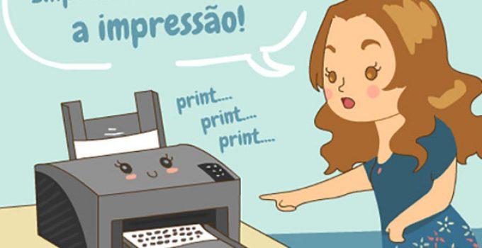 Cancelar impressão
